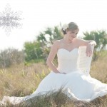Honeymoon Island Bridal Session | Jessica Bridal Session | Tampa Wedding Photographer Kristen Marie Photography