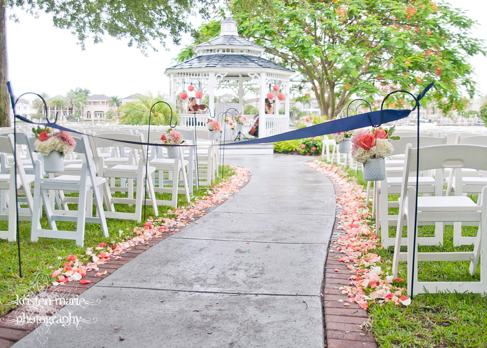davis island garden club wedding tampa wedding