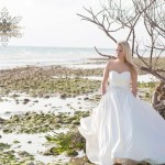 Honeymoon Island Wedding |Chad and Morgan Rock The Dress| Tampa Wedding Photographer Kristen Marie Photography
