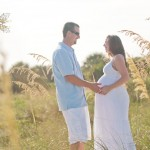 Honeymoon Island Maternity Session | Stacia & Donnie | Tampa Wedding Photographer Kristen Marie Photography