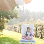 Wesley Chapel First Birthday Session | Isabella Session & Cake Smash |  Tampa Wedding Photographer Kristen Marie Photography