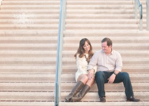 Downtown Tampa Riverwalk Engagement Session