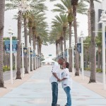 Tropicana Field Engagement Session | Tampa Wedding Photographer Kristen Marie Photography