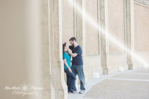 Hollis Gardens Engagement Session 1