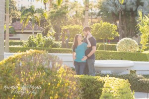 Hollis Gardens Engagement Session 5