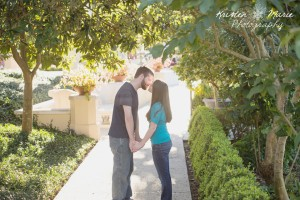 Hollis Gardens Engagement Session 6