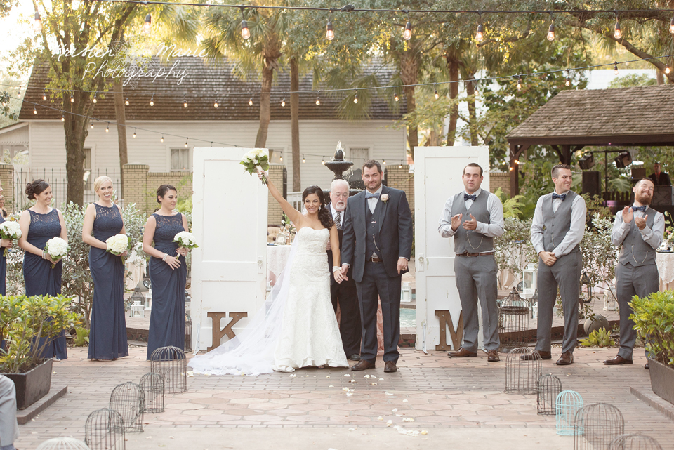 Ybor City Garden Museum Wedding 73