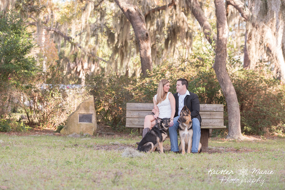 Palm Harbor & Honeymoon Island Engagement Session