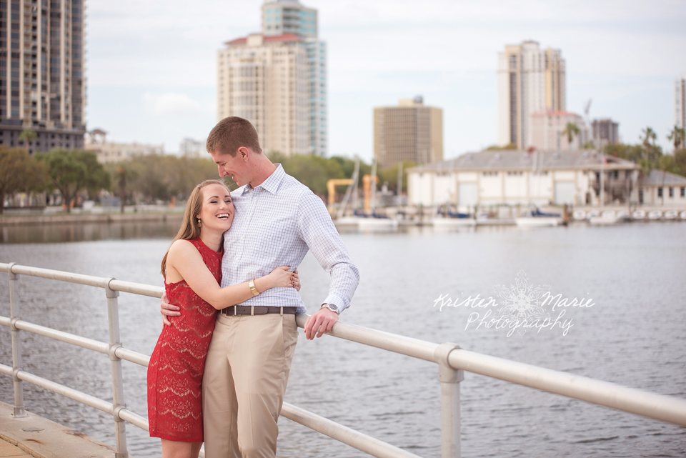 Downtown St Pete Engagement session 2