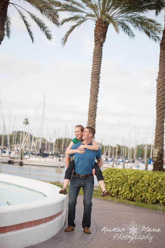 Downtown St Pete Engagement session 20