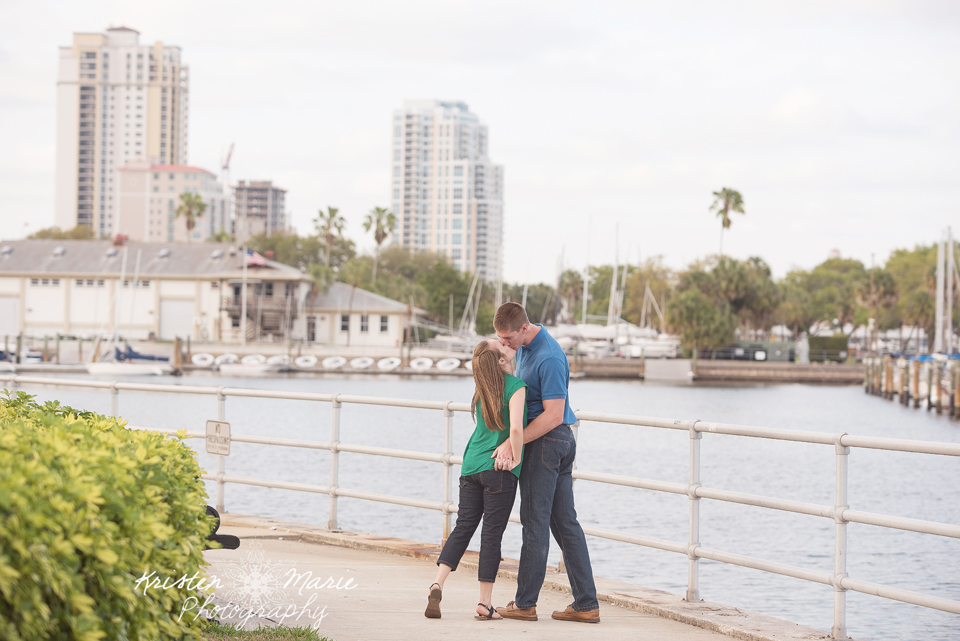 Downtown St Pete Engagement session 21