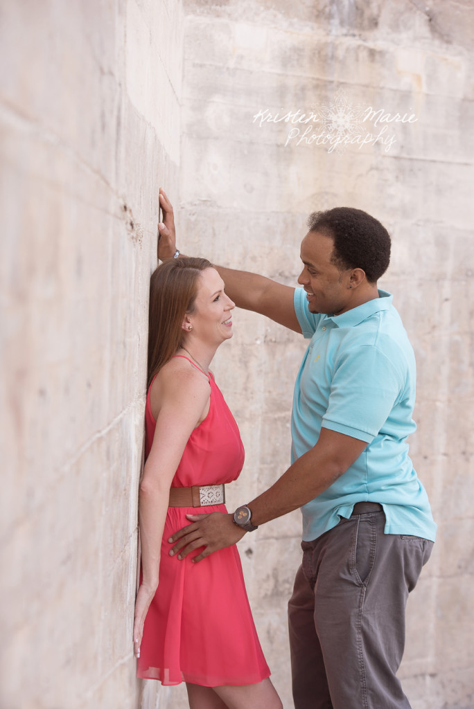 Fort Desoto Sunset Engagement Session