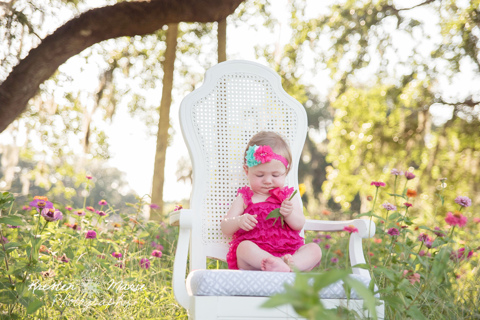 Avery Sunflower & Wildflower Plant City Session 17