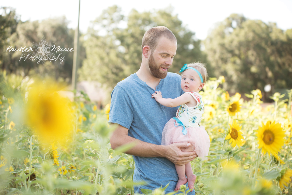 Avery Sunflower & Wildflower Plant City Session
