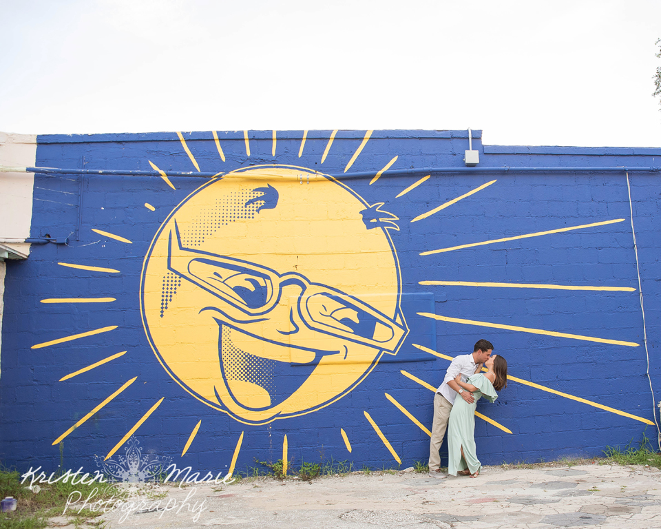 St Pete Mural Engagement Session