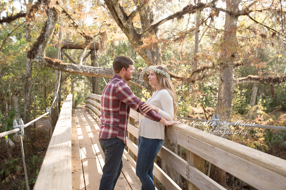 Hillsborough River State Park Fall Engagement Session
