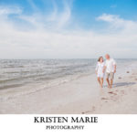 Honeymoon Island Christmas Eve Elopement | Kimberly and Jason | Tampa Wedding Photographer Kristen Marie Photography