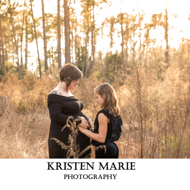 Tampa Maternity Session Dreamy Woods | Charlie | Tampa Maternity Photographer Kristen Marie Photography