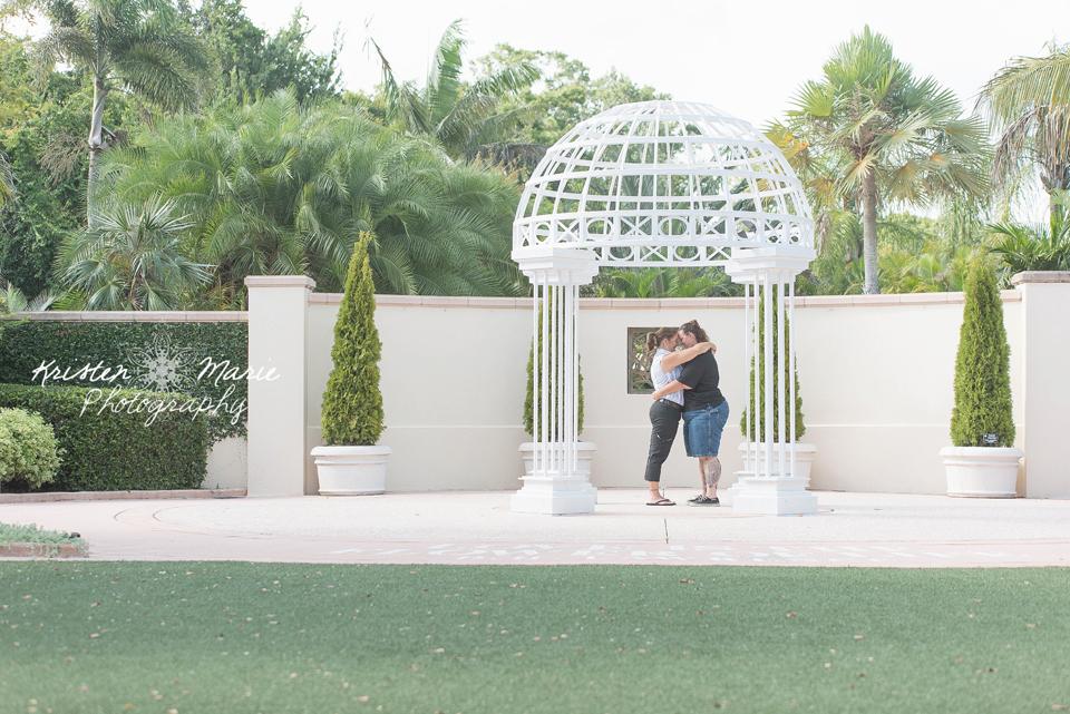 The Florida Botanical Gardens Engagement Session